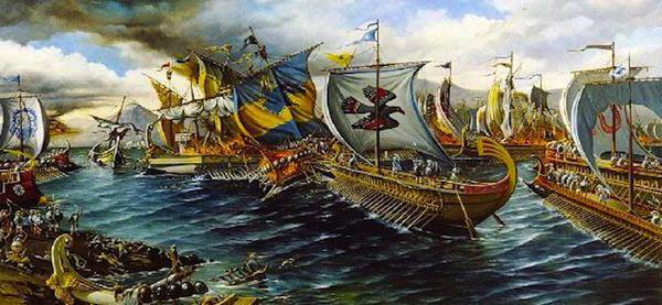 Salamis battle