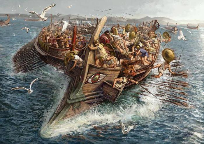 Salamis battle briefly