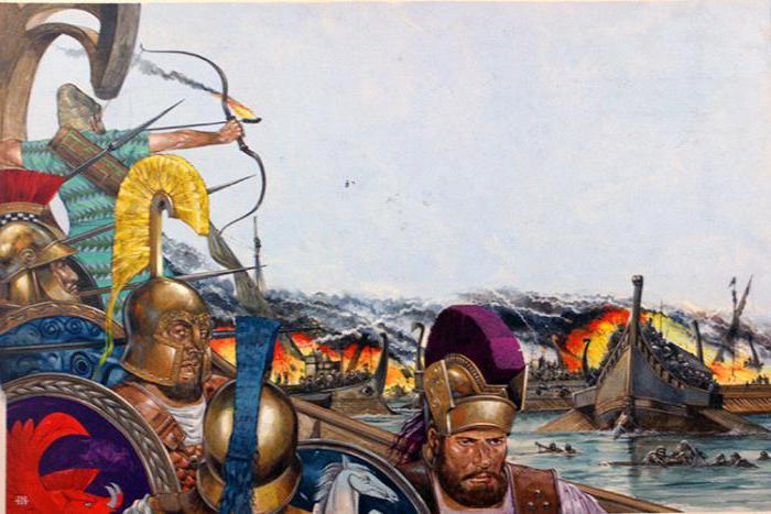 Salamis battle summary