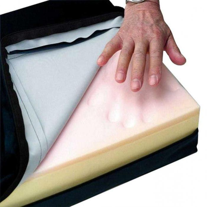 antidecubital inflatable pillow
