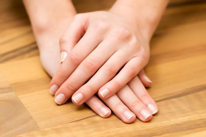 Ribbed nails on the cause and treatment
