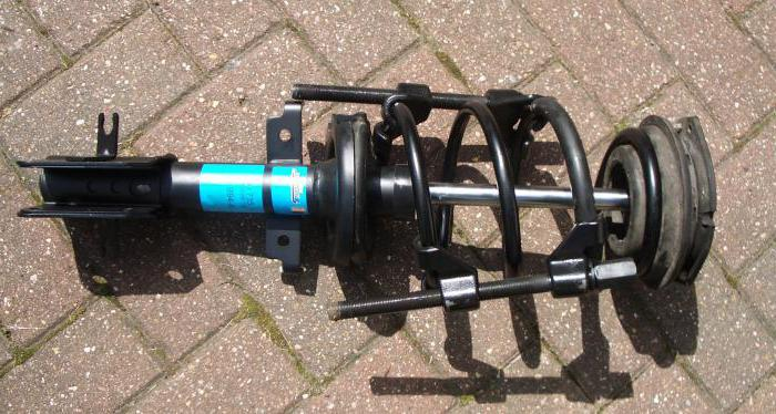 front shock absorber replacement