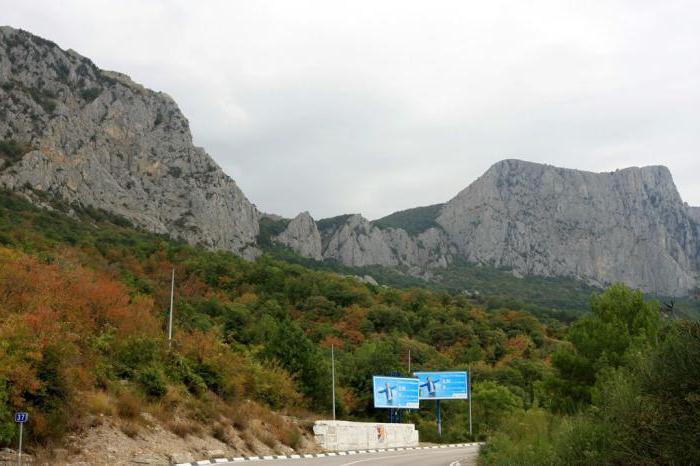Crimea coastal sights