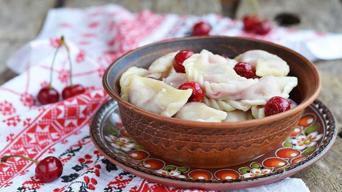 dumplings with frozen cherry recipe