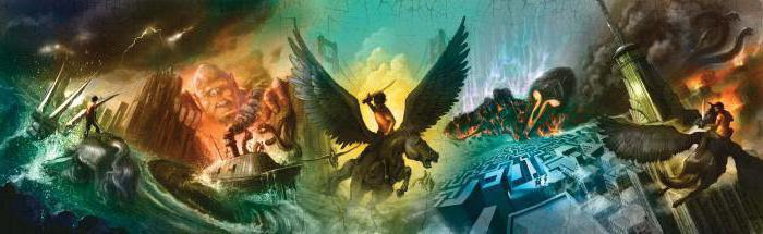 books about percy jackson in order