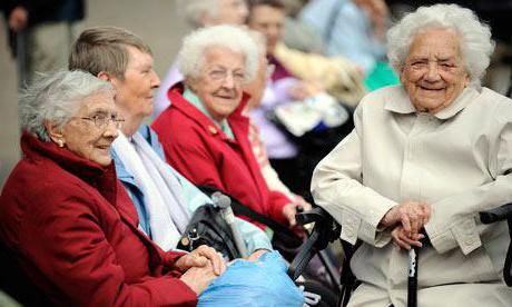 государственный социальные дома престарелых