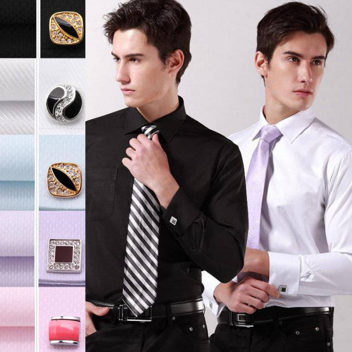men's shirts for cufflinks