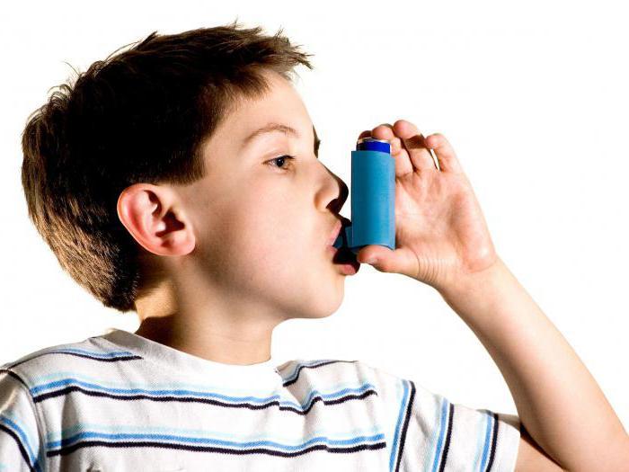 помощь при бронхиальной астме алгоритм действий