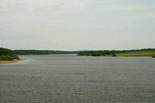 Vazuzskoye reservoir fishing bases