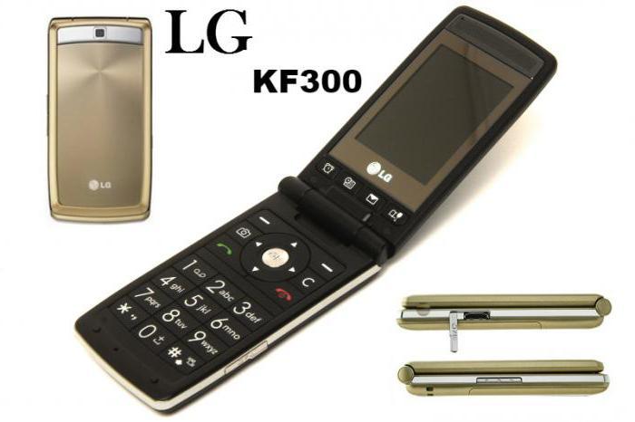 lg kf300 specifications