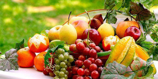сон фрукты на столе