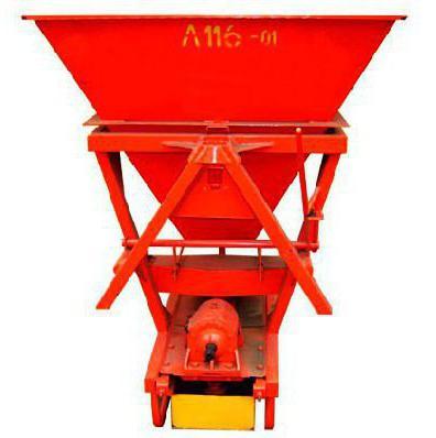fertilizer spreader mounted