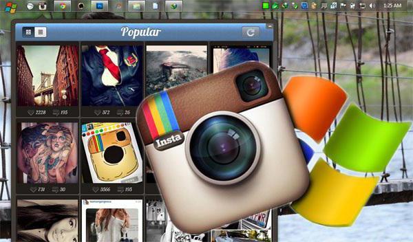 как загрузить фото в инсту через комп