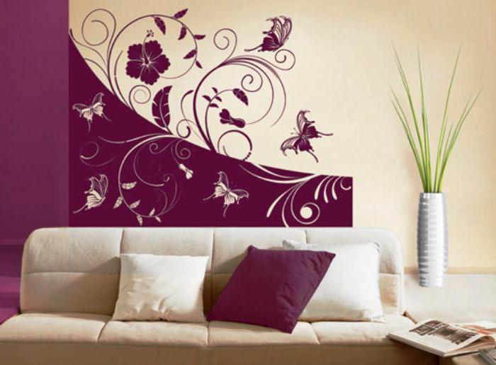 Объемный рисунок на стене своими руками: способы 21