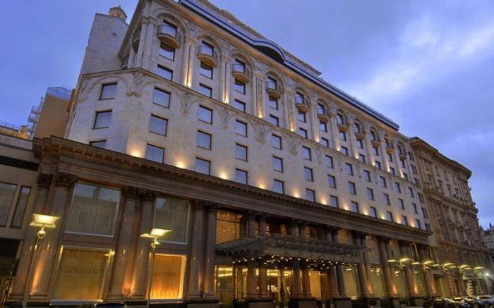 Hotel Ararat Park Hyatt Moscow Neglinnaya Street