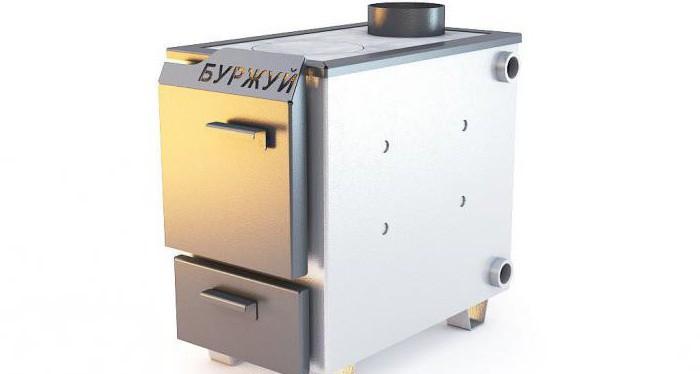 Russian solid fuel boiler