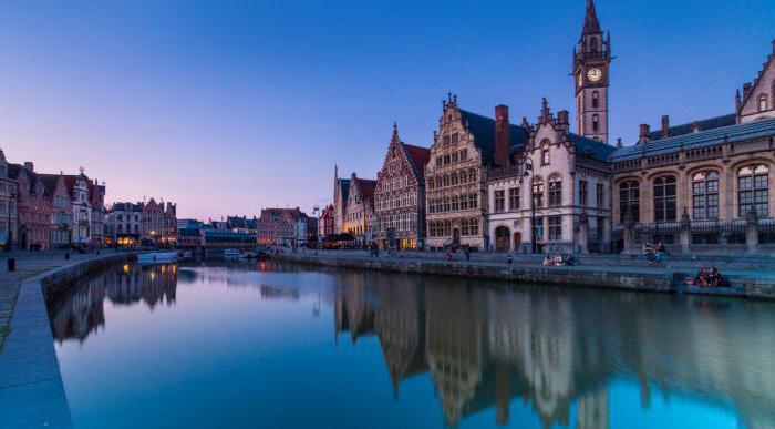 Ghent belgium sights