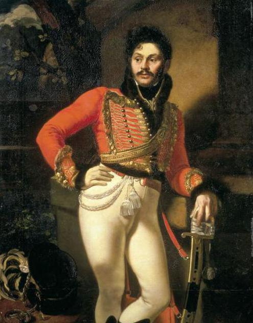 Kiprensky portrait of Davydov