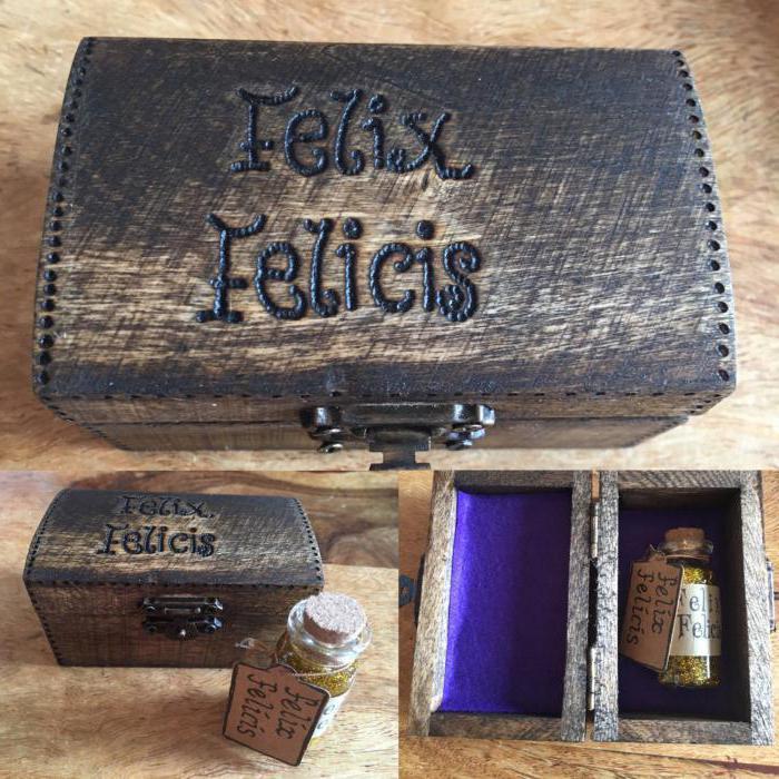 Felix Felicis Harry Potter