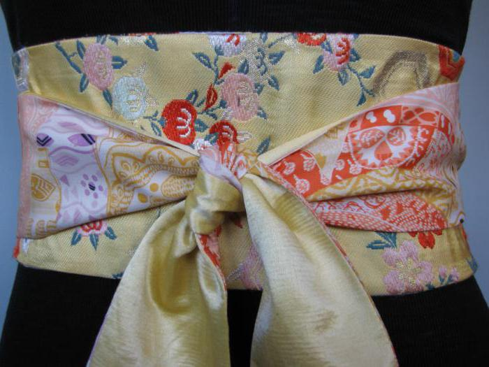 japanese kimono belt