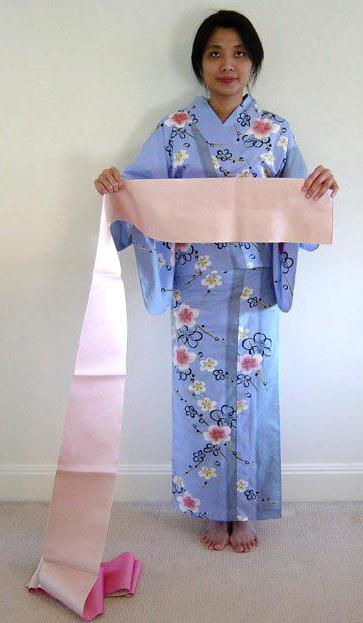 how to tie a japanese kimono