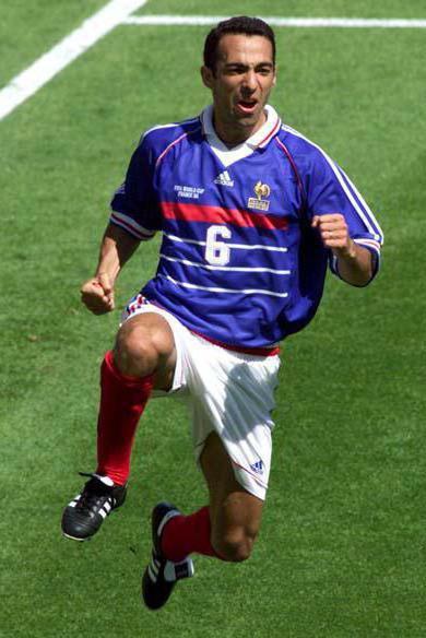Football player Yuri Djorkaeff