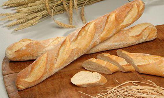 crisp french baguette