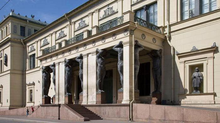 history of the Hermitage in St. Petersburg briefly