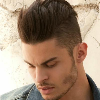 The most beautiful hairstyles in the world are male