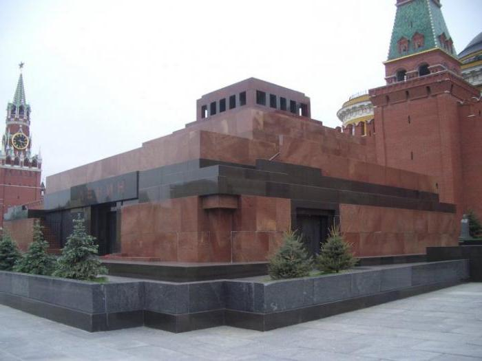 Why Lenin was buried in a mausoleum