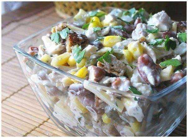 viking salad with chicken