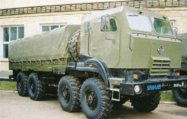 Ural 5323 specifications