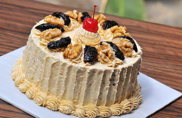 cake with prunes and walnuts reviews