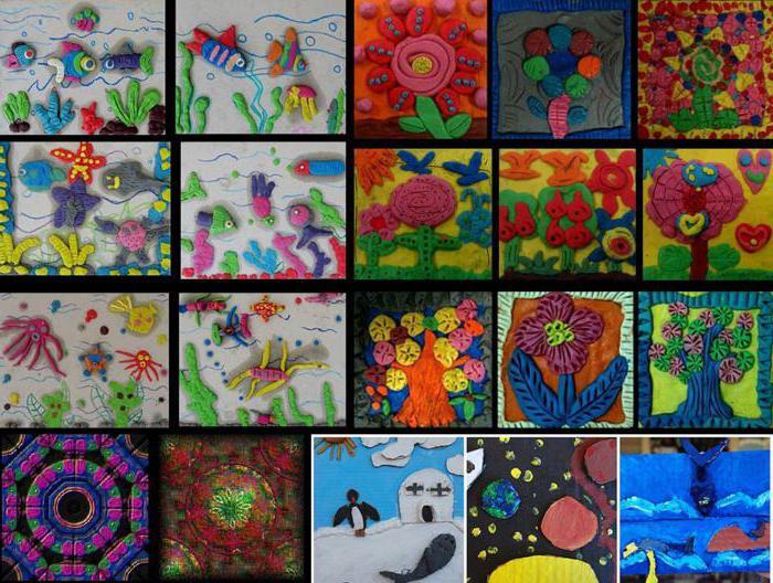 plasticine drawing patterns
