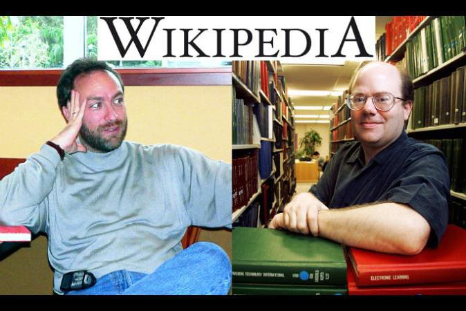 founder of wikipedia