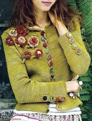 fashion knitted cardigans