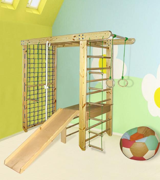 Спортивный комплекс для детей для дома: выбор и установка