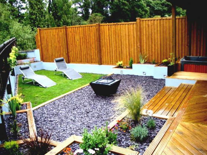 садовый паркет из дпк