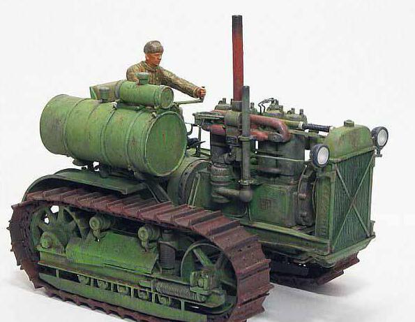 7 легендарных советских тракторов, на которых