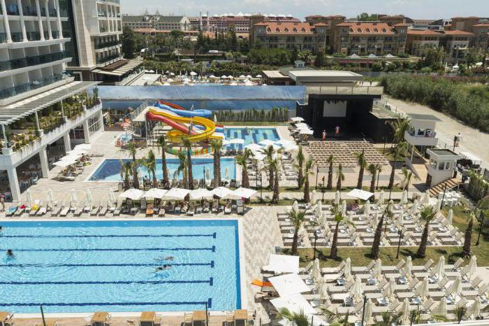 side la grande resort spa 5 рестораны