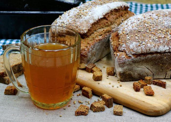 recipe for homemade kvass from black bread
