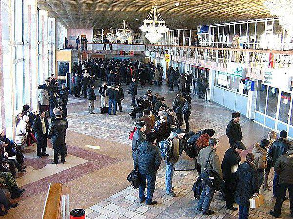 airport in the city of Uralsk