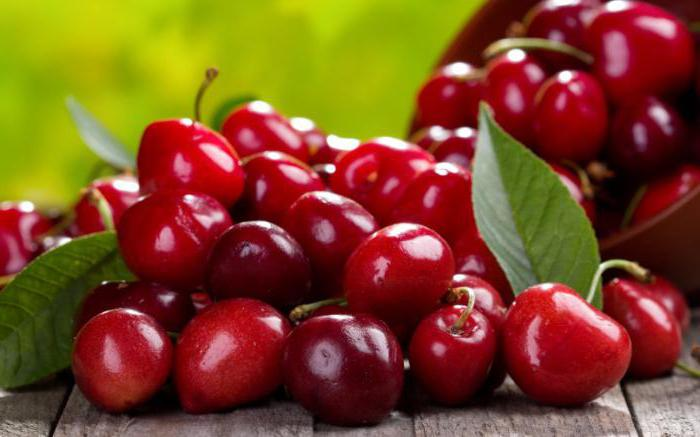 benefit and harm of sweet cherry