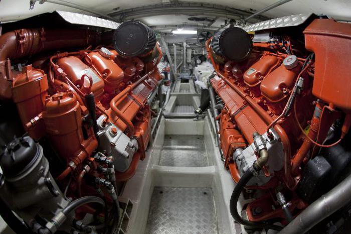 ship engine power