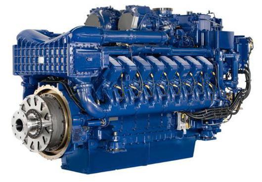 characteristics of the ship engine