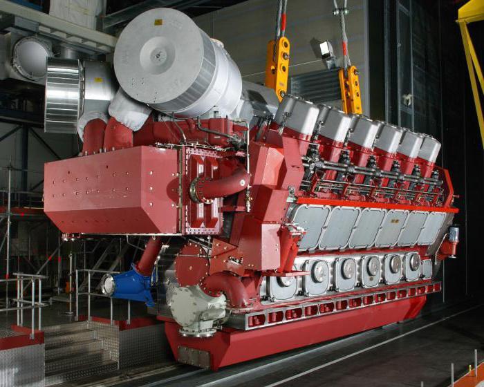 ship diesel engines