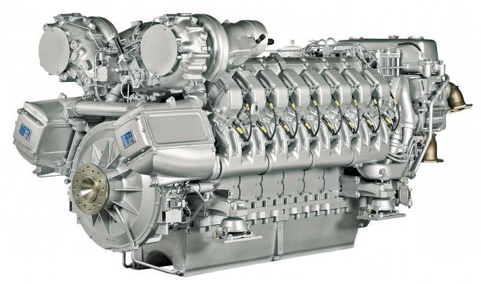 types of ship engines