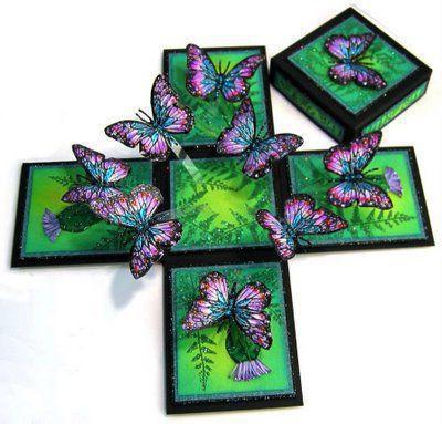 Коробочка своими руками для бабочки 391