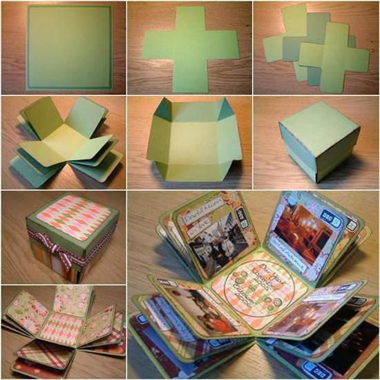 коробочка с сюрпризом на день рождения