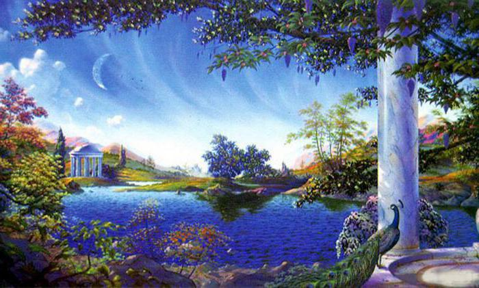 Paradise concept